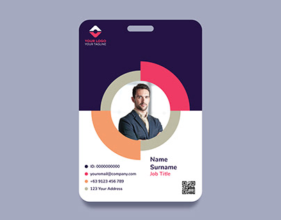 MODERN ID CARD DESIGN TEMPLATES