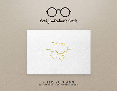 Geeky Valentine's Cards