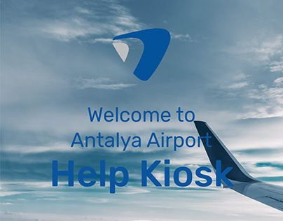 Antalya Airport Help Kiosk User Interface