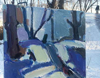 Paintings. Etudes.Pleinair.