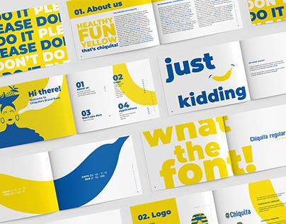 Chiquita Logo Redesign & Brand Book