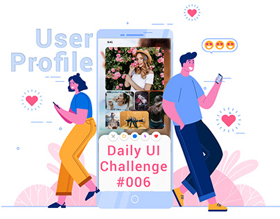 User Profile- Daily Ui 006