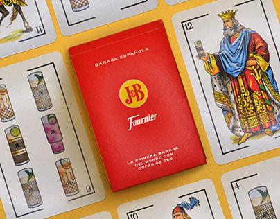 J&B - La baraja con copas de J&B