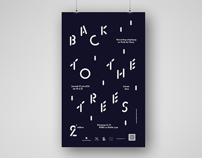Back to the Trees 2 — Poster & Typeface