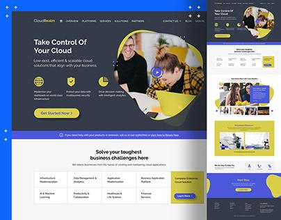 Cloud Services Home Page