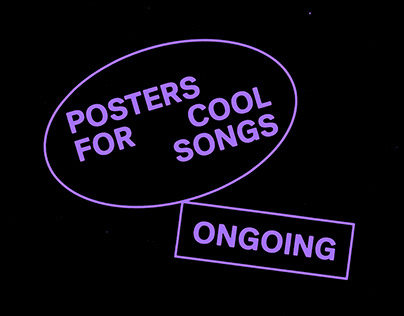 Posters For Cool Songs (ONGOING)