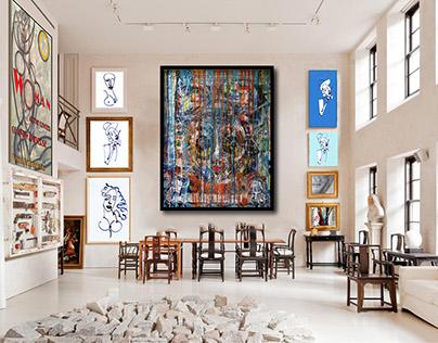 Where Cobra Art, Fashion and Cubism Meet