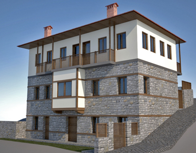 Renovation of private house in Metsovo - Greece