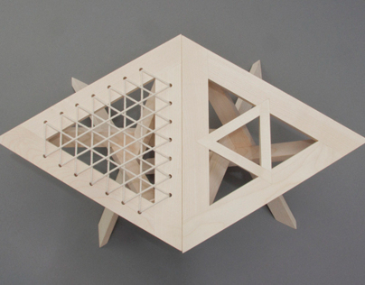 Continuous Triangle Stool