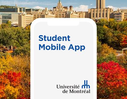 Student Mobile App - Université de Montréal
