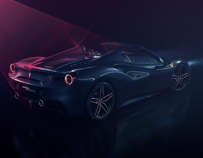 Ferrari 488 Spider - Laser