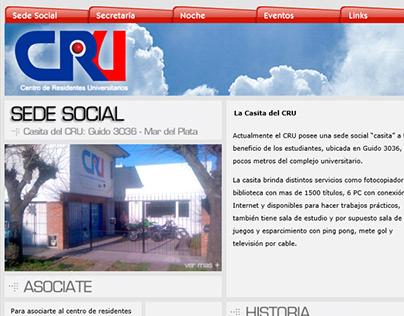Website Cru - Sede social Mar del Plata