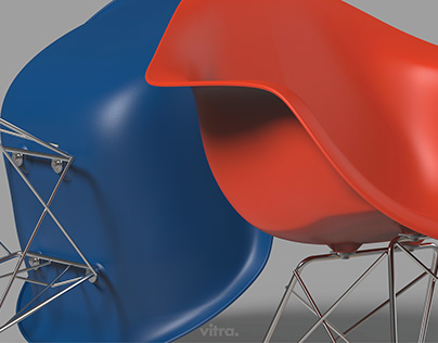 Vitra RAR Chair 3D Modelling and Visualization