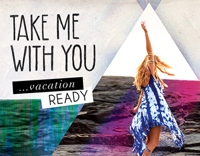 Take Me With You Campaign for Billabong