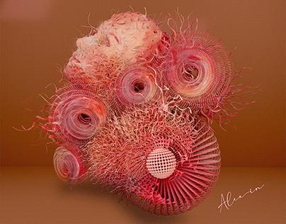 Three-dimensional delicacy