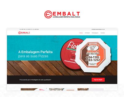 Site institucional Embalt Embalagens