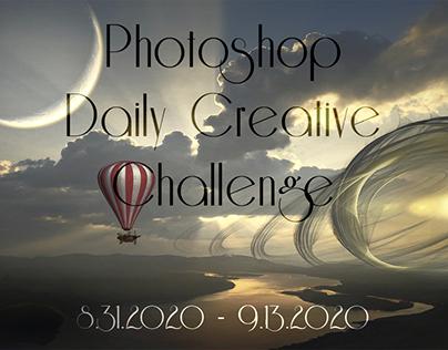 Photoshop Daily Creative Challenge 8.31.2020