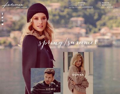Falconeri website concept