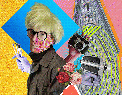 Andy Warhol Collage