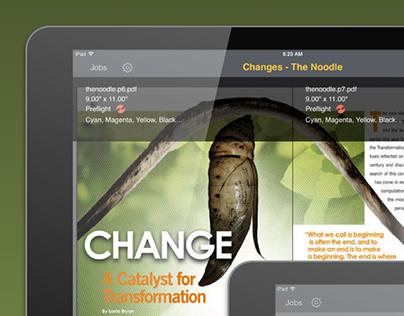 Kodak Prinergy Device Track web app on Behance
