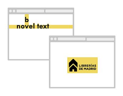 novbel text - Gremio de Librerías de Madrid