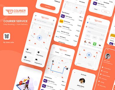Logistics Delivery Mobile App Design