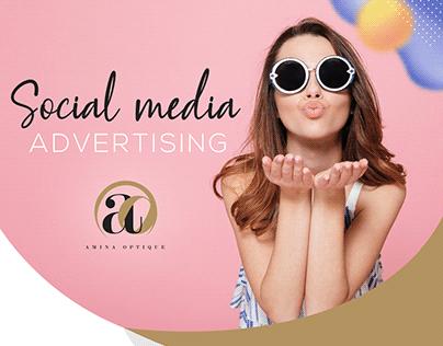Social Media Amina Optique