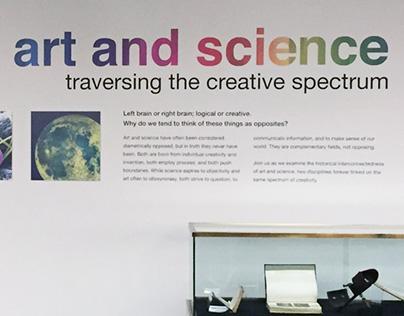 Northwestern Art & Science Exhibit