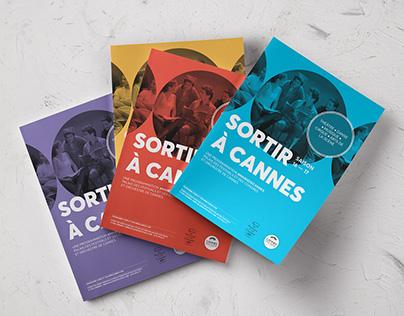 Sortir à Cannes - Editorial rebranding