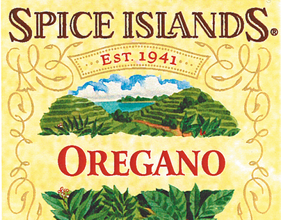 Spice Islands Branding and Packaging