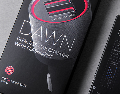 DAWN / Car Charger with Flashlight