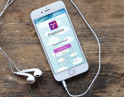 Concept learning mobile application «Flaptunes»