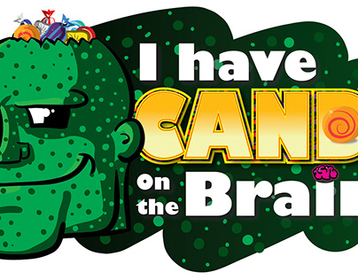 Candy on the Brain - Free Halloween Graphics