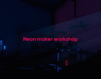 3D Works - Neon maker workshop