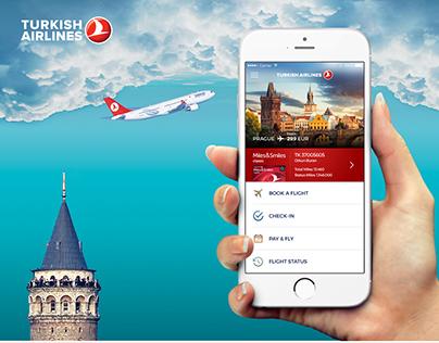 Turkish Airlines - Flight iOS App