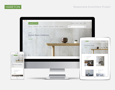 Hareton responsive ecommers project