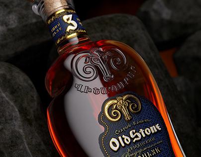 "Armenian brandy ""Old Stone"""