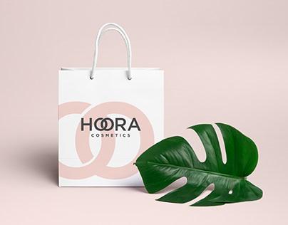 HOORA Cosmetics Brand Identity Design