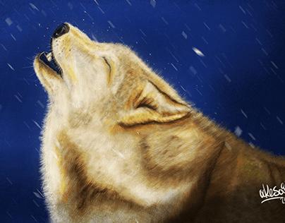 Ilustración Wolf