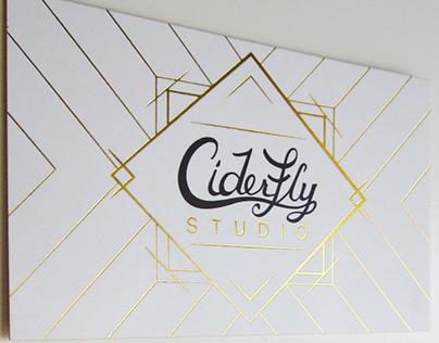 Ciderfly Studio Logo & Website Design