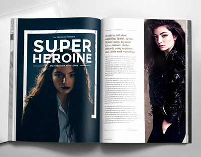 Editorial Design: An Interview with Lorde