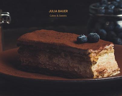 Julia Bauer Landing page