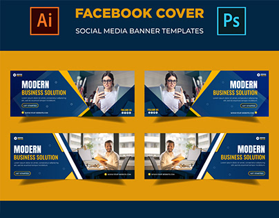 Corporate Facebook Timeline Cover design Template