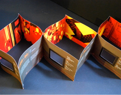 Brochure Design - Artist's Exhibition