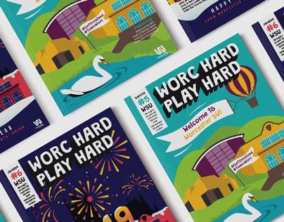 Worc Hard Play Hard Magazine