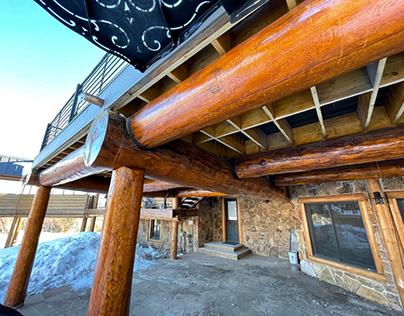 Pagosa Springs Log Deck Restoration
