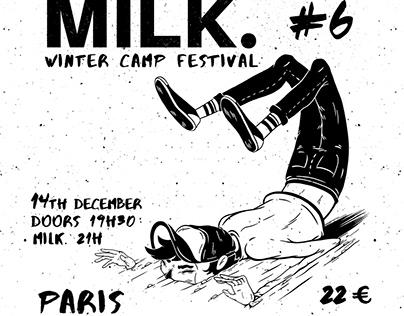 Poster Design for MILK.london