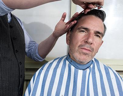 Gentlemen Story/shooting for barbershop Headbusters.