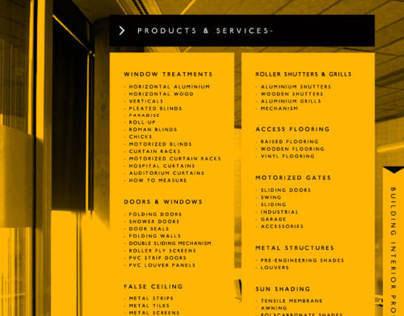 Editorial Catalog Design
