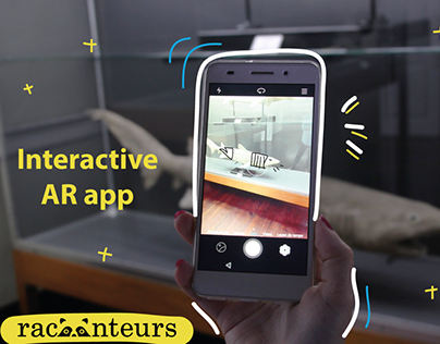 Racoonteurs - An AR app